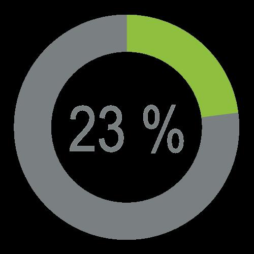 Economie 23 %